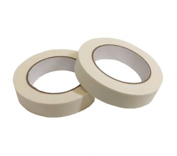 Masking Tape - 25mm x 50m - High Quality Painting & Decorating Strong Adhesive