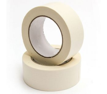 Masking Tape - 50m x50mm - High Quality Painting & Decorating Strong Adhesive