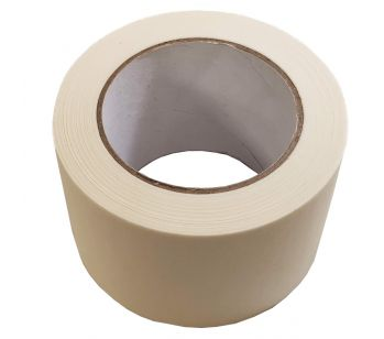 Masking Tape - 50m x75mm - High Quality Painting & Decorating Strong Adhesive