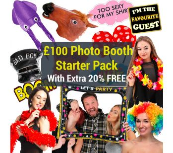 £100 Photo Booth Props Starter Pack