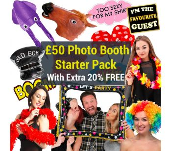 £50 Photo Booth Props Starter Pack