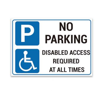 Black and Gold 'NO PARKING' and 'KEEP DRIVEWAY ENTRANCE CLEAR', 'THANK YOU' Warning Sign. Tough, Durable and Rust-Proof Weatherproof PVC Sign for Outdoor Use, 297MM X 210MM. No 016