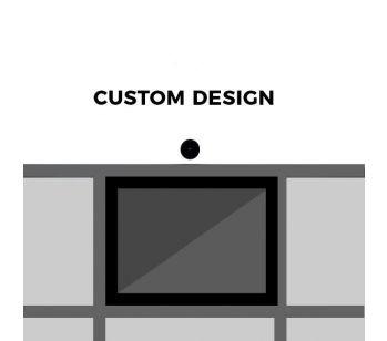 Custom 'Look Here' Front Panel – 1192 (w) x 569 (h) mm