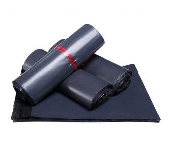 100pcs Self Adhesive Dark Grey Mailing Bag 250mm x 310mm + 40mm