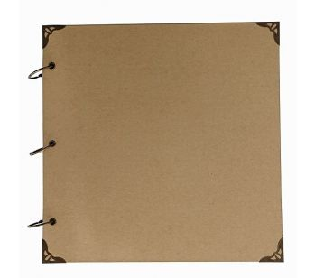 Large Kraft Paper Cover Guestbook