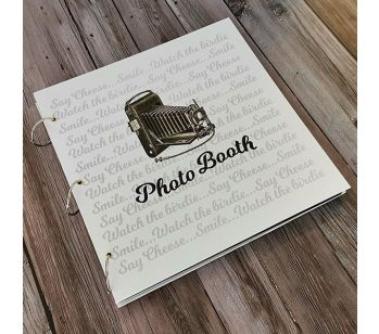 Large Photo Booth Style Guestbook
