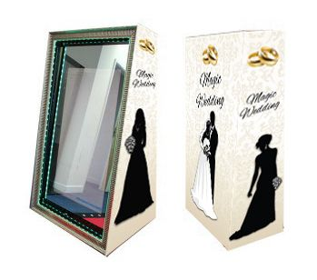 Magic Mirror FLITE Wedding Rings Full Set