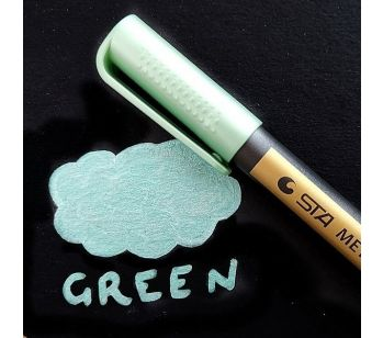 Green Premium Metallic Guest Book Marker Pen