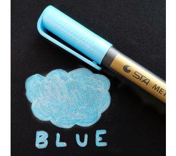 Blue Premium Metallic Guest Book Marker Pen