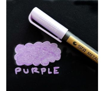 Purple Premium Metallic Guest Book Marker Pen