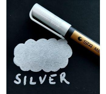 Silver Premium Metallic Guest Book Marker Pen