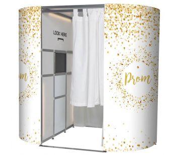 Graduation Prom Confetti Photo Booth Panels