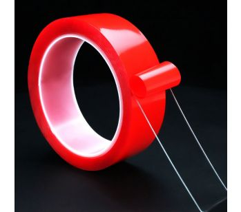 Removable & Traceless Adhesive Washable Nano Gel Tape 30mm x 3m