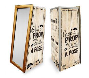 Magic Mirror SE Light Wood With Vintage Illustrations Full Set