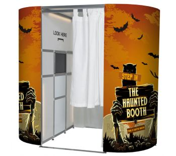 The Haunted Booth Halloween Photo Booth Panel Skins