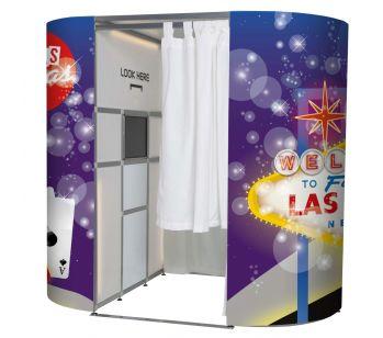 Las Vegas Showtime Photo Booth Panel Skins