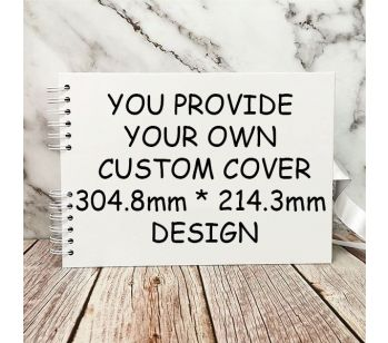 Pick Your Design & Customise Your Own Unique Guestbook